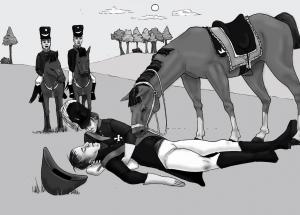 Karl AugustI dör plötsligt på hästryggen